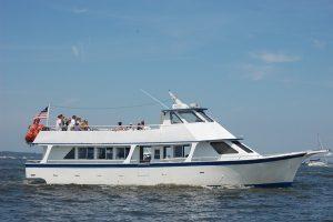 The Sea Spirit charter boat