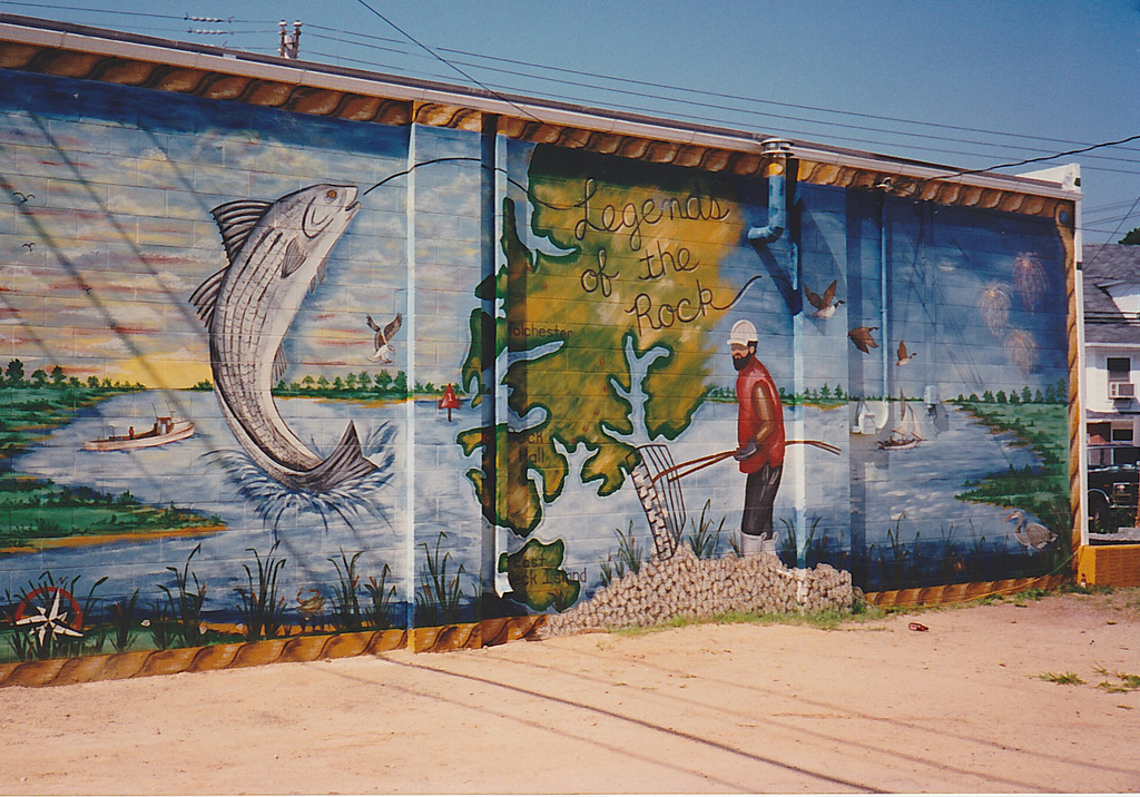 mural on side of building