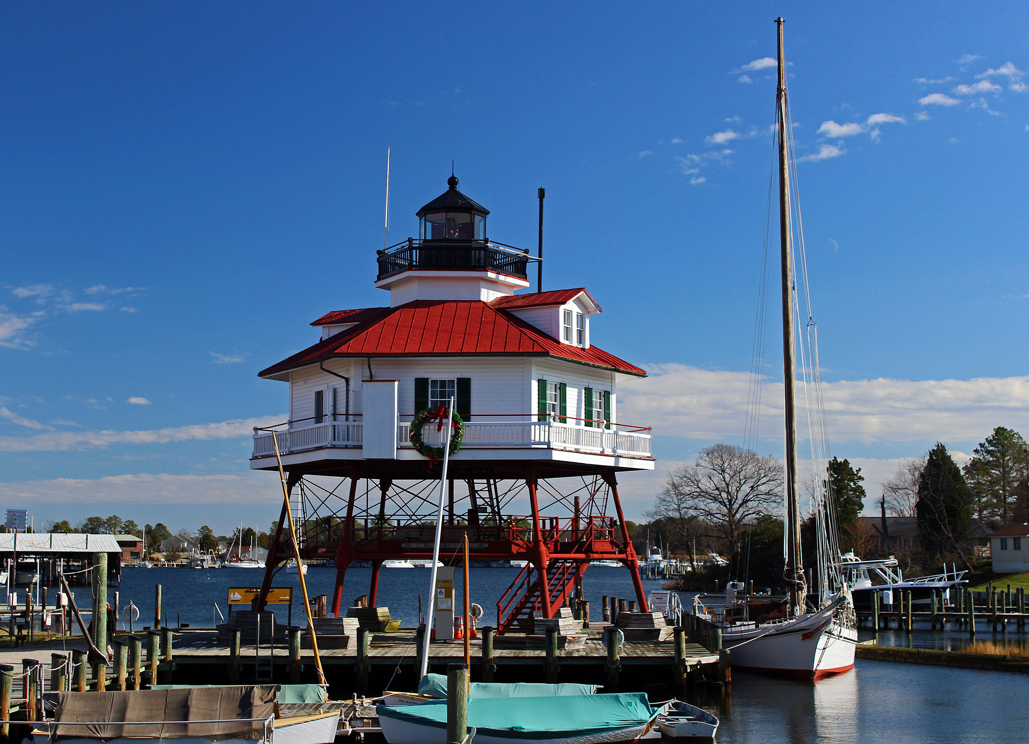 Drum point lighthouse - Solomons island