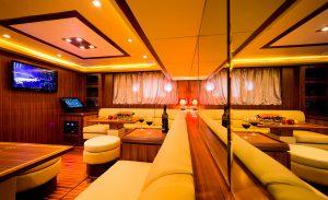Artemis yachts interior