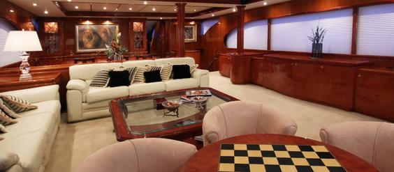 Heritage yachts interior